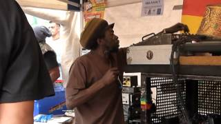 "Notting Hill Carnival 2012 - Aba Shanti-I ▶ Murray Man ""King Of Ethiopia"" [Salomon Heritage] ⑦"