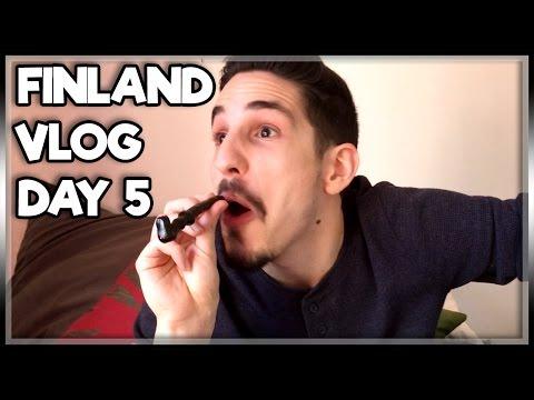 FINNISH SNACK/CANDY TASTE TEST! | FINLAND VLOG DAY 5