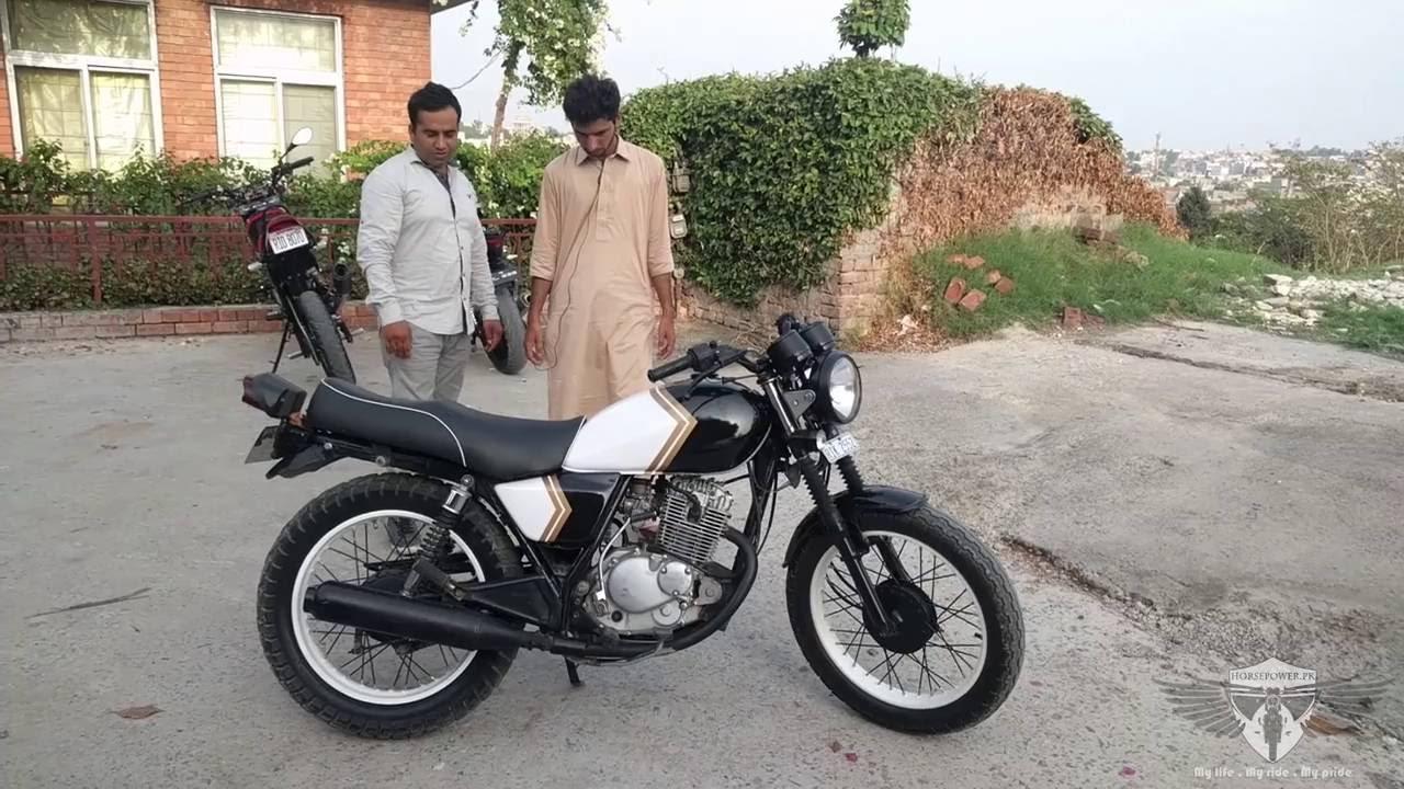 Suzuki Gs  Modified In Pakistan