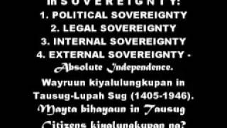 United Tausug People of Sultanate of Sulu JIHAD FII SABILILLAH