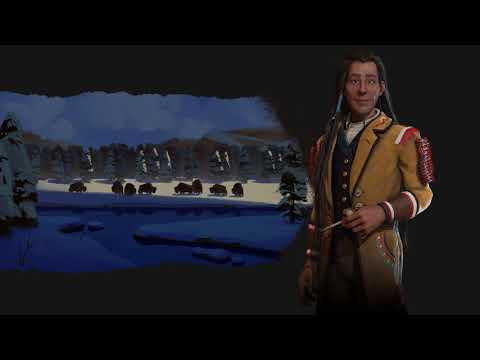 Cree Theme - Ancient (Civilization 6 OST)   The Drums Of Poundmaker