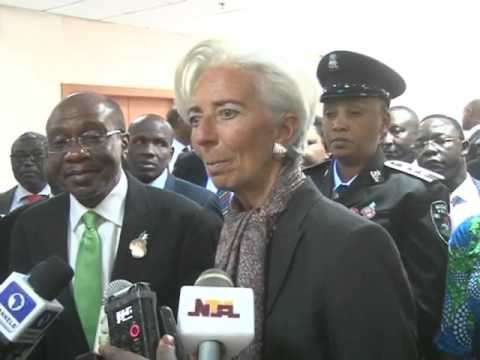 IMF CHIEF AT CBN PACKAGED