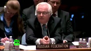 Финальное выступление: Виталий Чуркин в ООН 17 апреля 2014