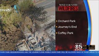 Wildfire Evacuees In Hard-Hit Santa Rosa Neighborhoods Set To Return