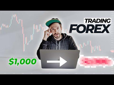 I Tried Trading Forex (ZERO Experience!)