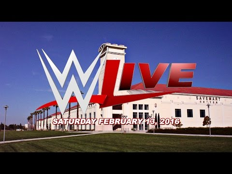Pro Wrestling Unlimited Will Be At The WWE Live Event In Fresno California Tonight