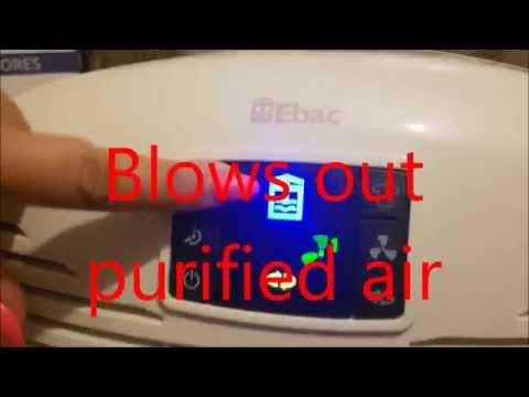 Ebac 3000 Series Dehumidifier , review and set up