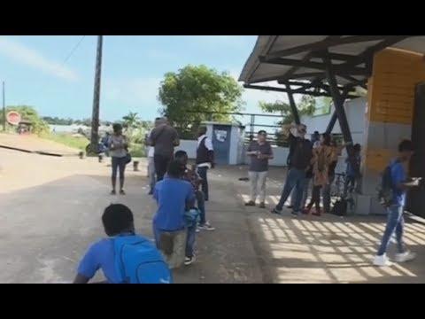 Saint-Laurent : Grève au collège Paul Jean-Louis - Guyane 1ère