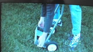 Lawn Aerator Garden Dolly Gardening Gadget Billy Carmen Product News Video