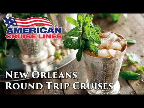 New Orleans Round Trip Mississippi River Cruises with Americ