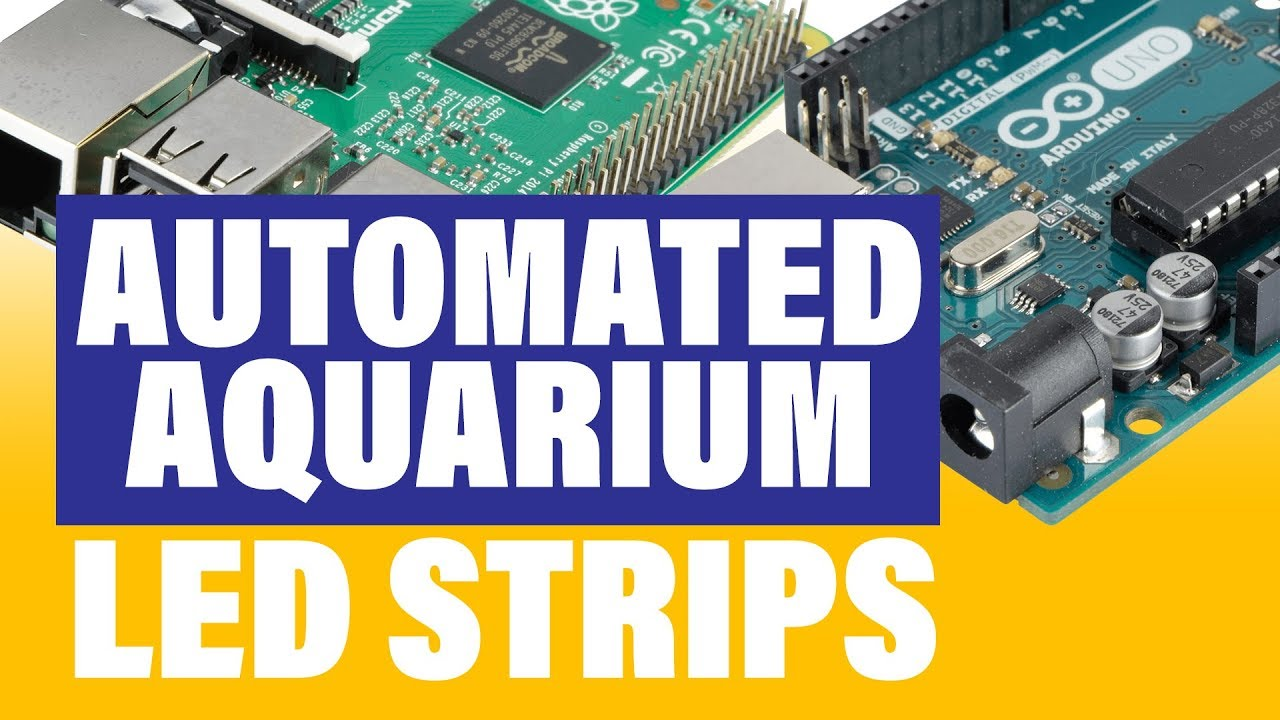 Raspberry Pi and Arduino to Automate Aquarium Lights (NeoPixel LED Strip)