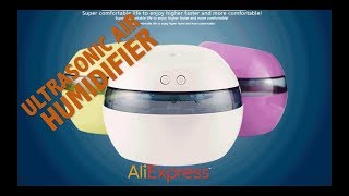 DC 5V Ultrasonic Air Aroma Humidifier LED Aromatherapy Essential Oil Aroma Diffuser Unboxing