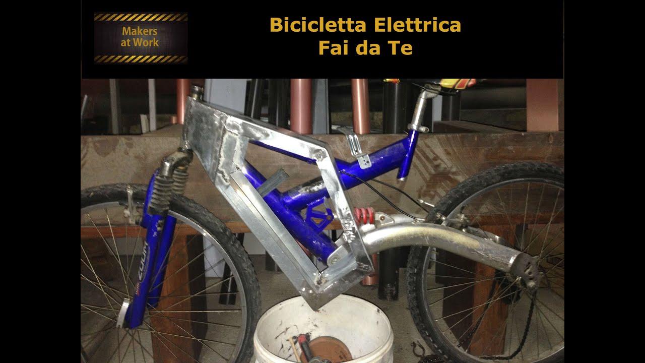 Schema Elettrico Hoverboard : Fai da te bicicletta elettrica parte 1 3 youtube