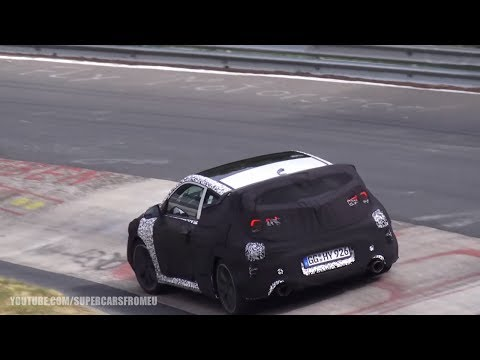 2019 Hyundai Veloster N Spied Testing on the Nurburgring, Nordschleife