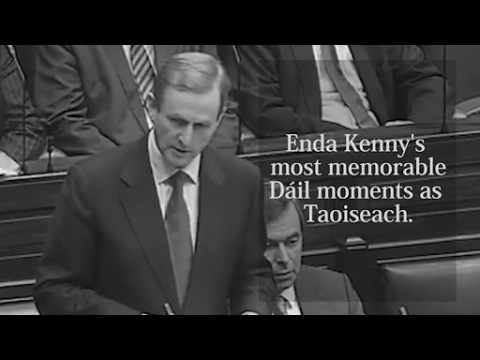 VIDEO: Enda Kenny's biggest Dáil moments as Taoiseach