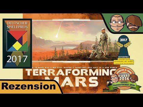 Terraforming Mars (Deutscher Spielepreis 2017) - Review