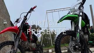 Balade en dirt bike en forêt Apollo RFZ 150cc /CRZ 140cc