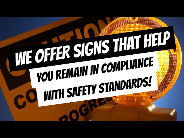 SSU Supplies Safety Signage on Construction Sites