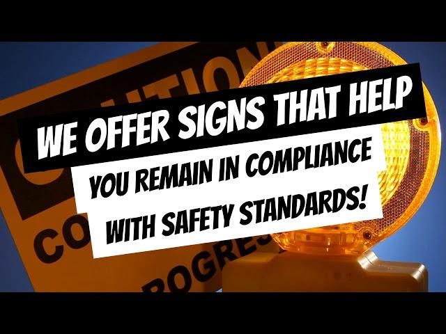SSU Supplies Safety Signage on Construction Sites