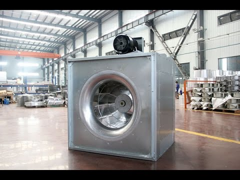 inline square centrifugal fan model isq