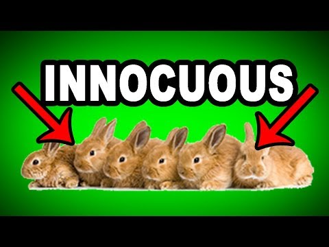 Learn English Words: INNOCUOUS - Meaning, Vocabulary with Pictures and Examples