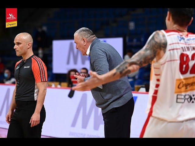 [Highlights] Carpegna Prosciutto Basket Pesaro - De'Longhi Treviso: 89-97