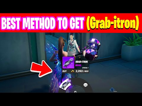 Where to Find Grab-itron in fortnite - Best Spot For Grab-itron locations in fortnite