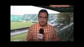 Fuerte lluvia en Chiapas previo al juego México vs Guatemala