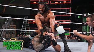 Reigns stumbles against Mahal due to a sudden attack: Money in the Bank 2018 (WWE Network Exclusive) thumbnail