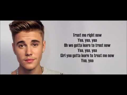 Justin Bieber - Trust Lyrics