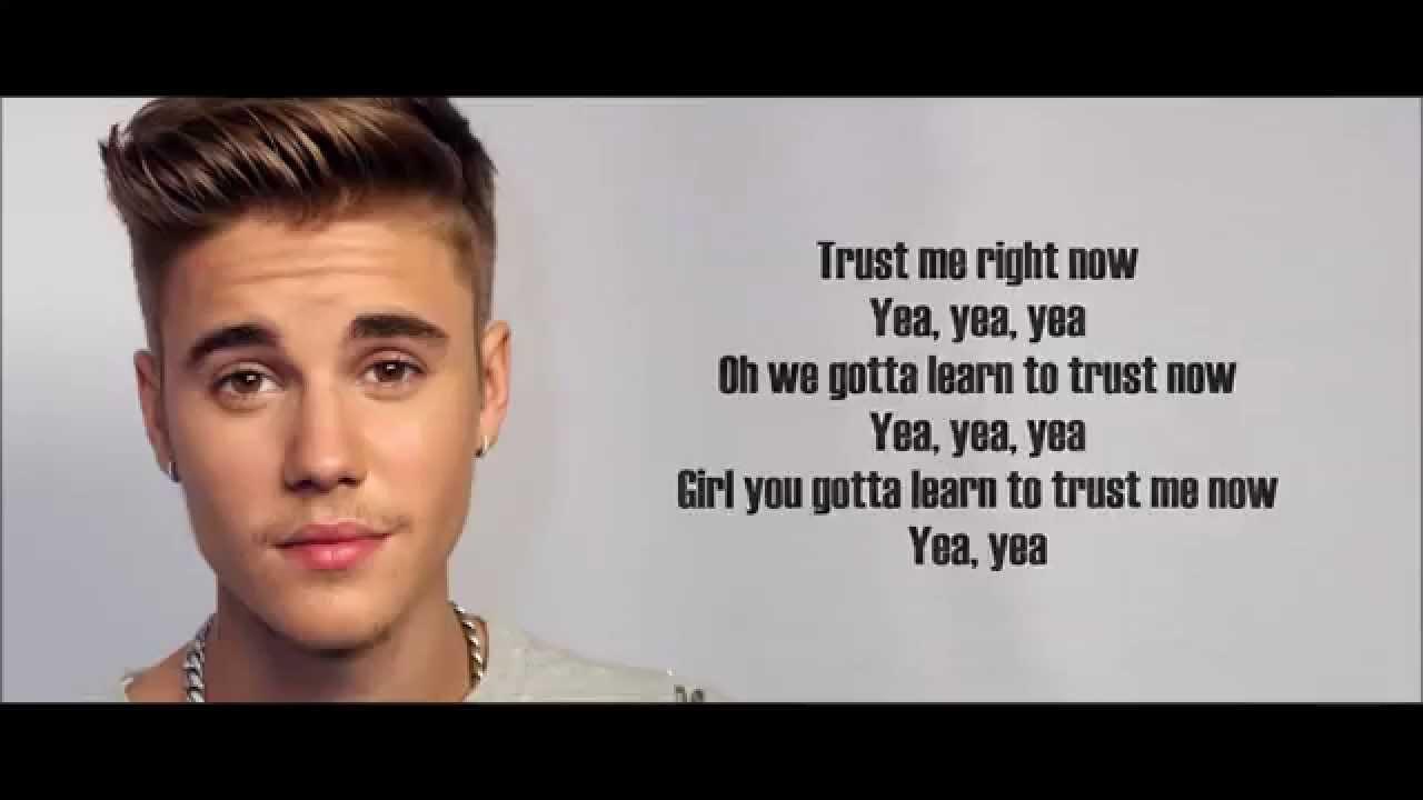 Justin Bieber - Trust (Lyrics)