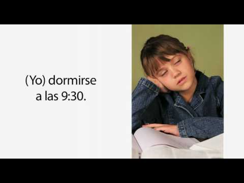 Learn Spanish 2.5 - The Morning Routine and Reflexive Verbs (part 1)