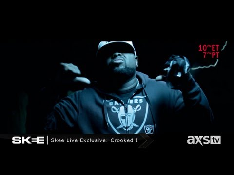 "Crooked I ""Off The Top"" SKEE Live Exclusive Freestyle"