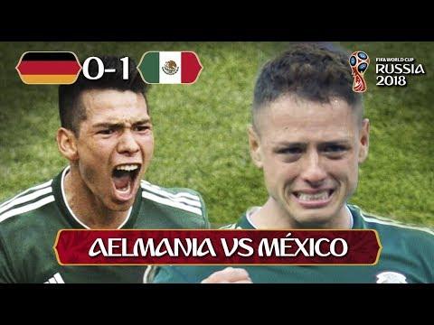 Alemania 0 México 1 I RESUMEN Y GOL