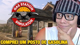 O POSTO DE GASOLINA DO GODENOT - Gas Station Simulator
