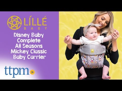 cc1cbd66737 Disney Baby Complete All Seasons Mickey Classic Baby Carrier from LILLEBaby