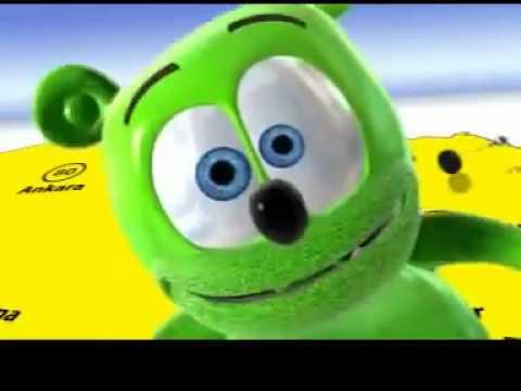 The Gummy Bear Song 11880 reklamı Türkçe!!