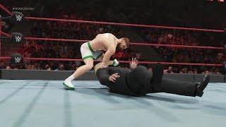 WWE 2k19 Conor McGregor vs. Donald Trump (CPU vs. CPU)