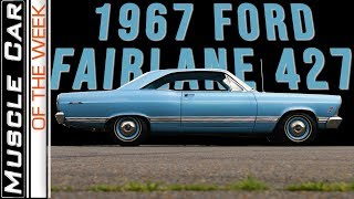 1967 Ford Fairlane 427 Muscle Car Of The Week Video Episode 306 V8TV