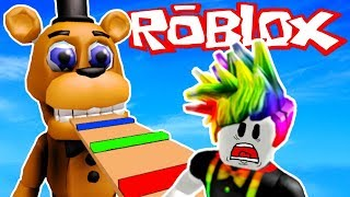 FNAF ROBLOX OBBY WITH OB! | Multiplayer Roblox Gameplay | Roblox RP