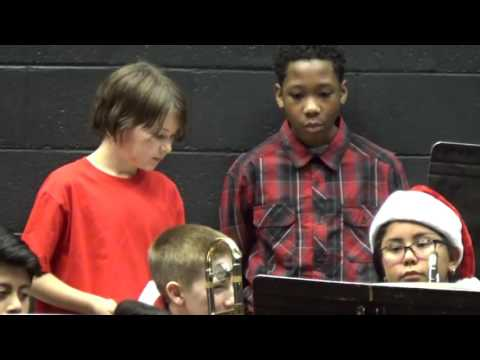 Newberry Middle School Band Concert - Newberry, SC - December 2016