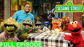 Sesame street 4922 dinosaur in the laundromat