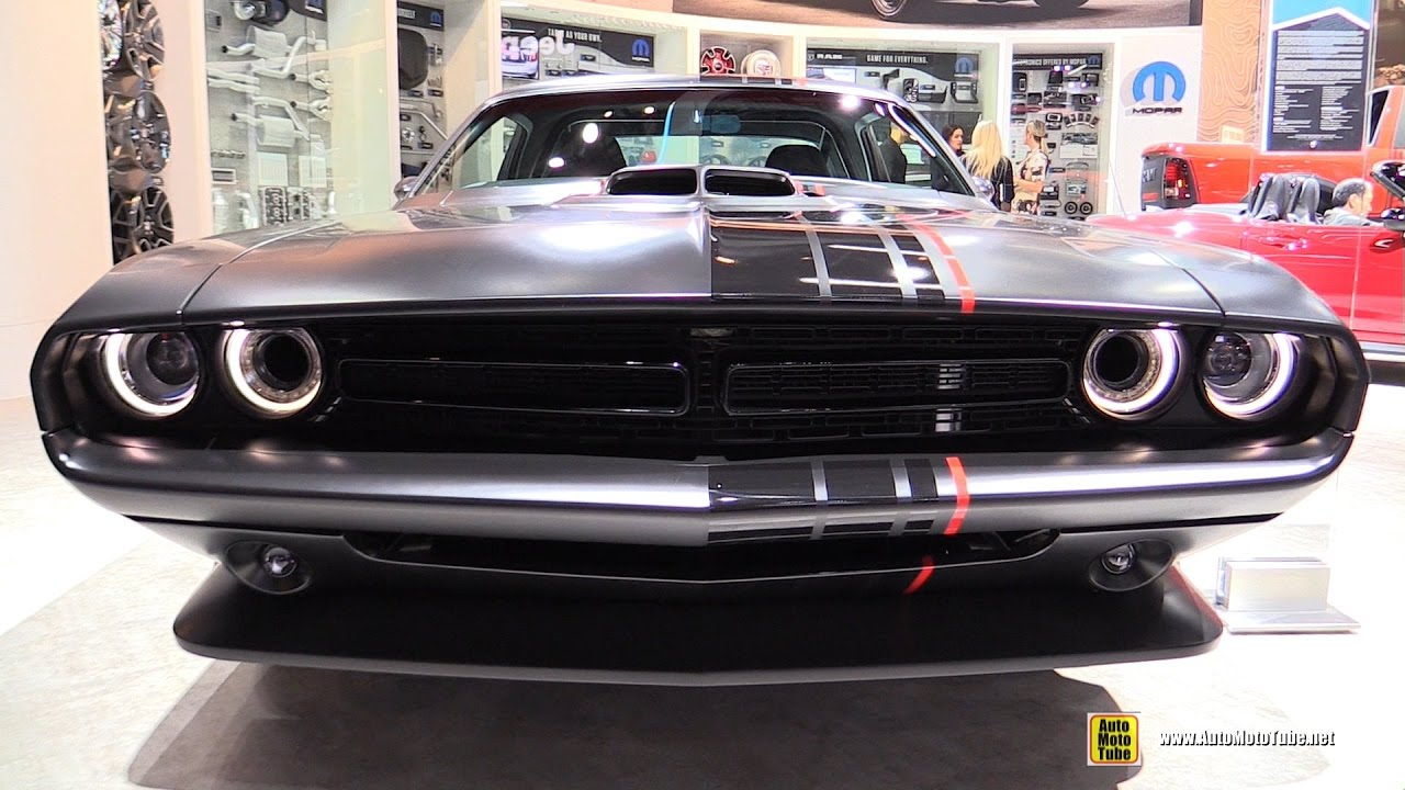 2017 dodge challenger shakedown by mopar exterior and interior walkaround 2017 detroit auto. Black Bedroom Furniture Sets. Home Design Ideas