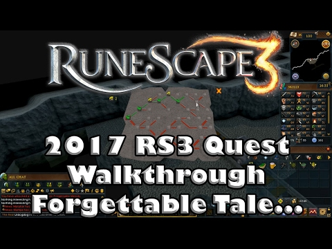 RS3 Quest Guide - Forgettable Tale    (of a Drunken Dwarf) - 2017(Up