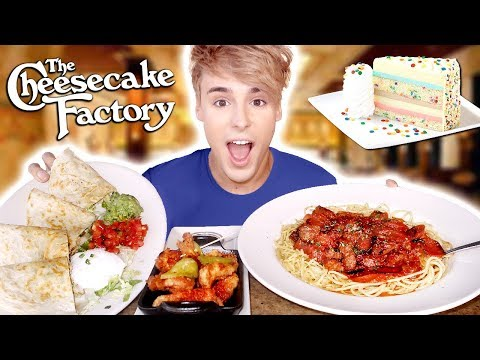 i went to CHEESECAKE FACTORY for the FIRST TIME ever !!!