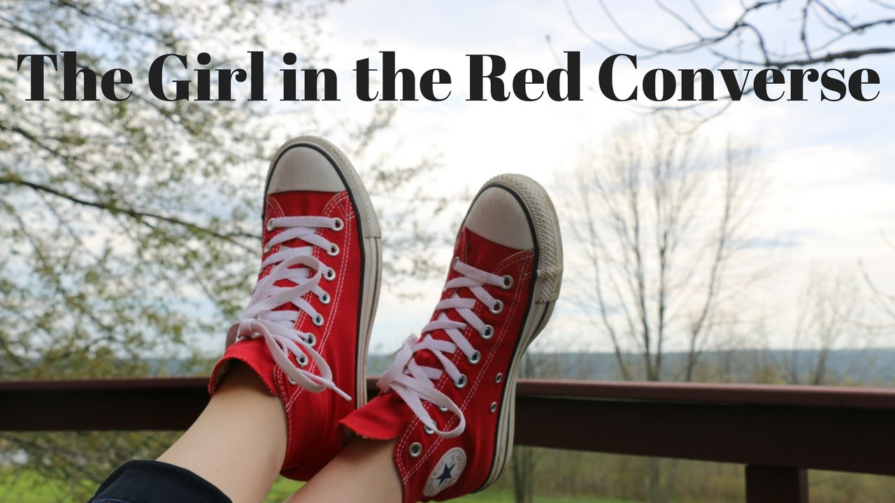94372733a427 where can i buy the girl in the red converse youtube 3ca70 2509a