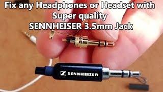 How to repair Earphones/ Headphones and replace 3.5 mm stereo Jack. Buy best 3.5mm stereo jack.
