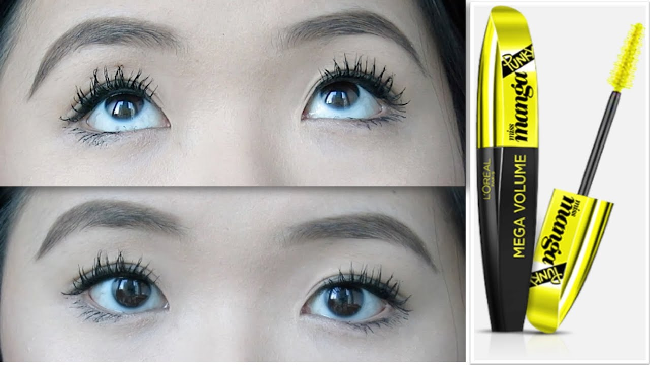 47520c16fb6 L'ORÉAL Voluminous Miss Manga Rock Mascara | Demo & Review by ...