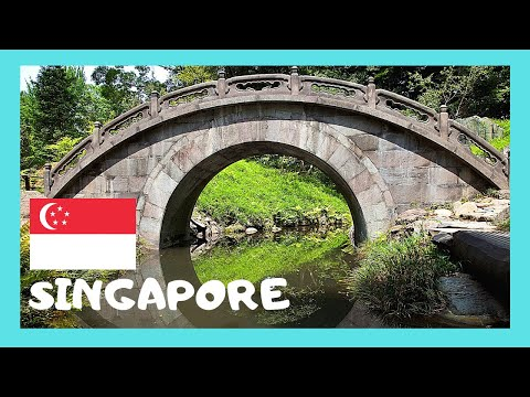 SINGAPORE, the beautiful JAPANESE and CHINESE GARDENS