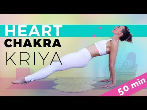 Kundalini Yoga Class: Heart Chakra Opening Sequence (50-min) Breath Of Fire Pranayama Frenzy!